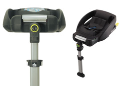 car seat bases and accessories