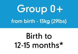 from birth - 13kg (29lbs)