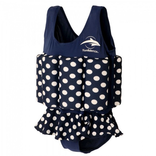 Konfidence Floatsuit Polka Dot - 2-3 years old