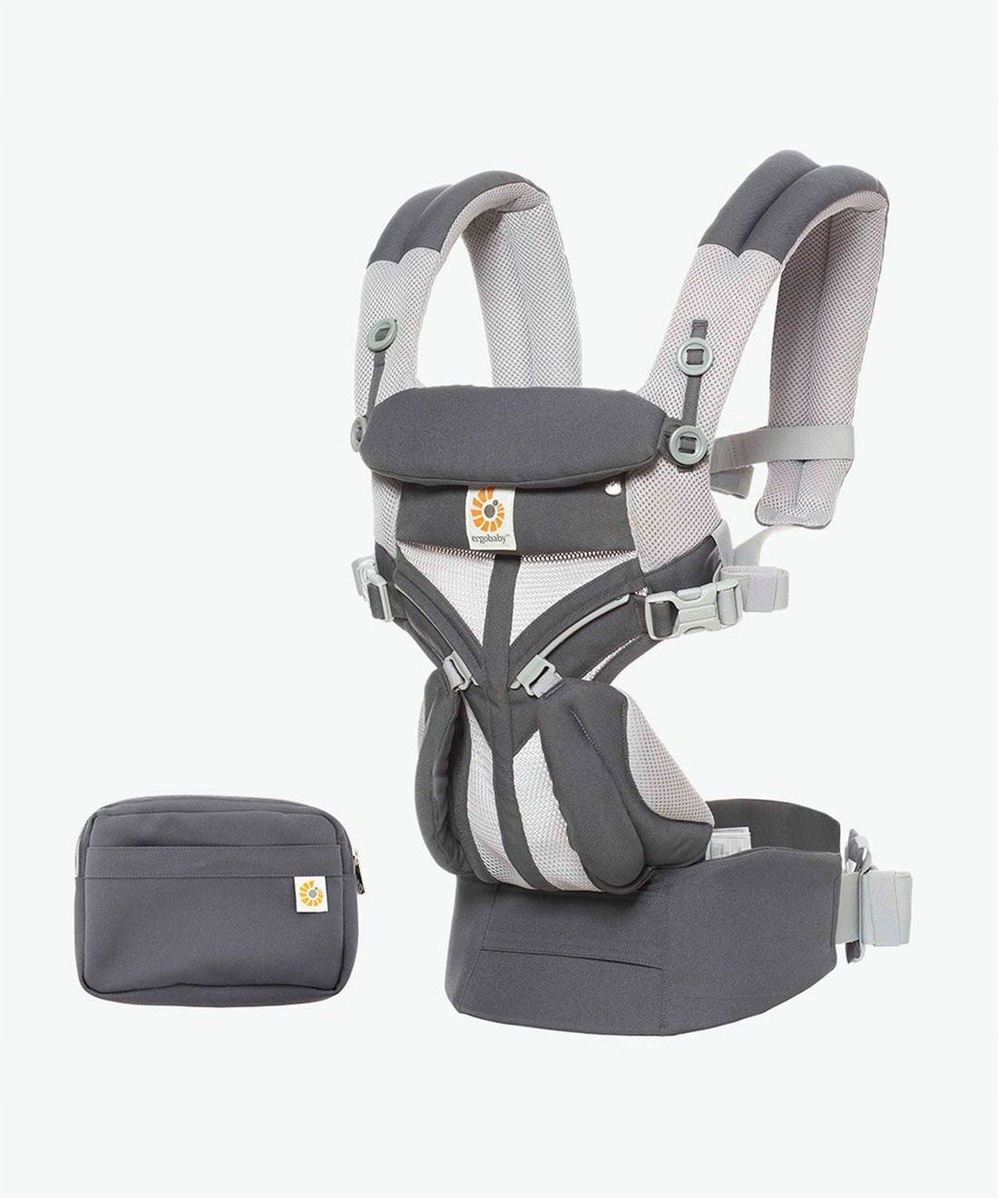 Ergobaby Omni 360 Baby Carrier - Cool Air Mesh Carbon Grey