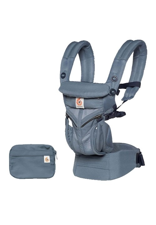 Ergobaby Omni 360 Baby Carrier - Cool Air Mesh - Oxford Blue