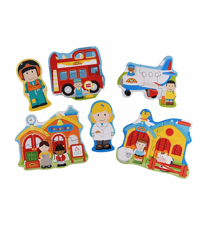 Early Learning Centre Happyland Puzzles