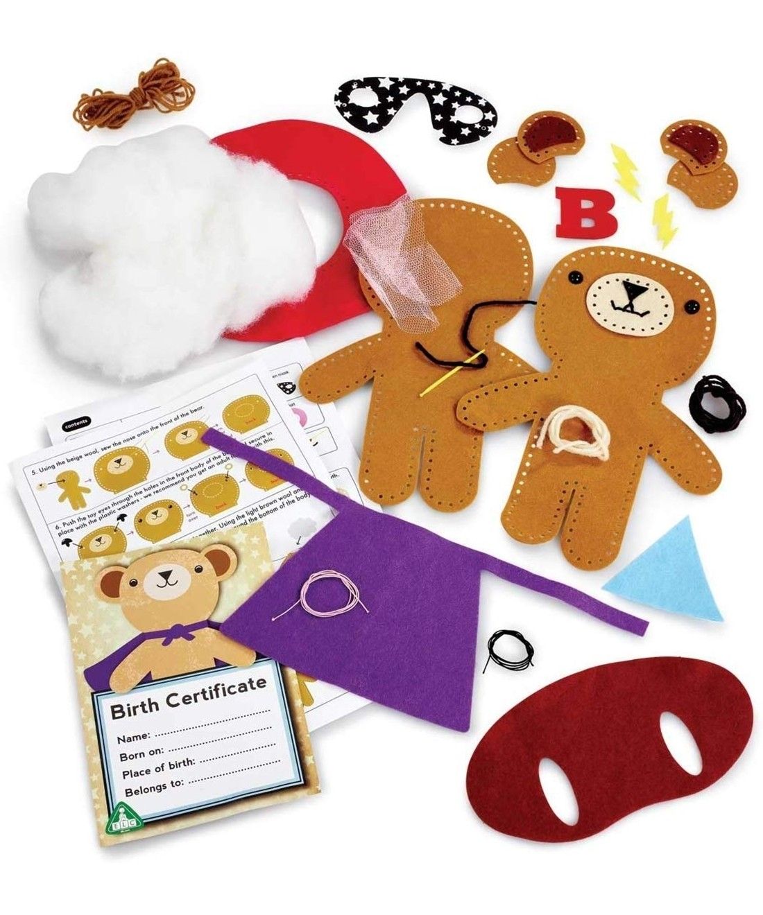Early Learning Centre Sew Your Own Teddy