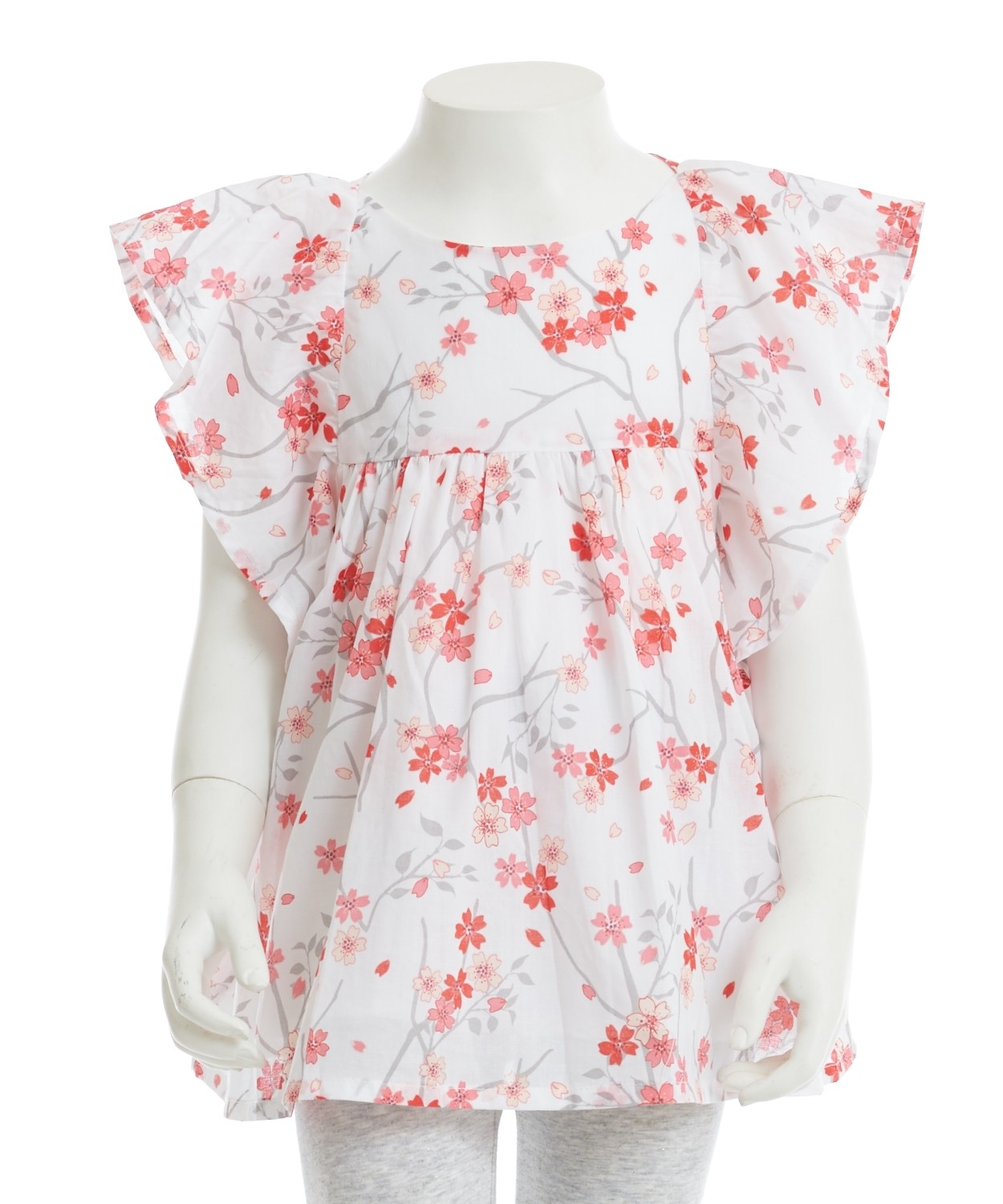Gingersnaps Butterfly Printed Blouse