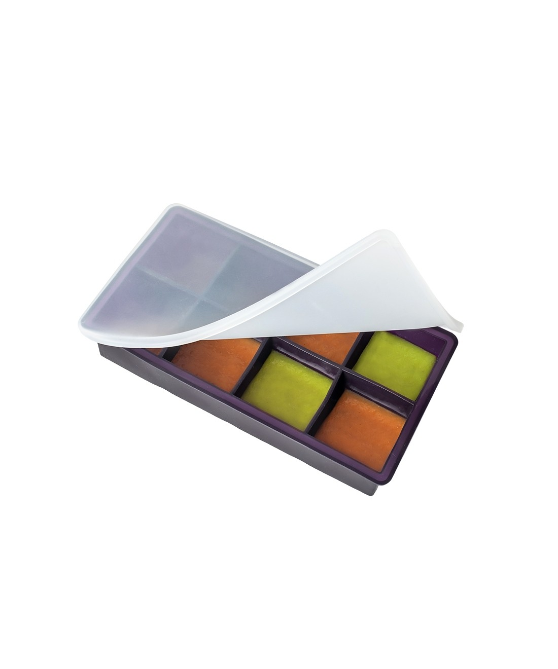 LoveAmme Baby Food Freezer Silicon Tray - 8 Servings