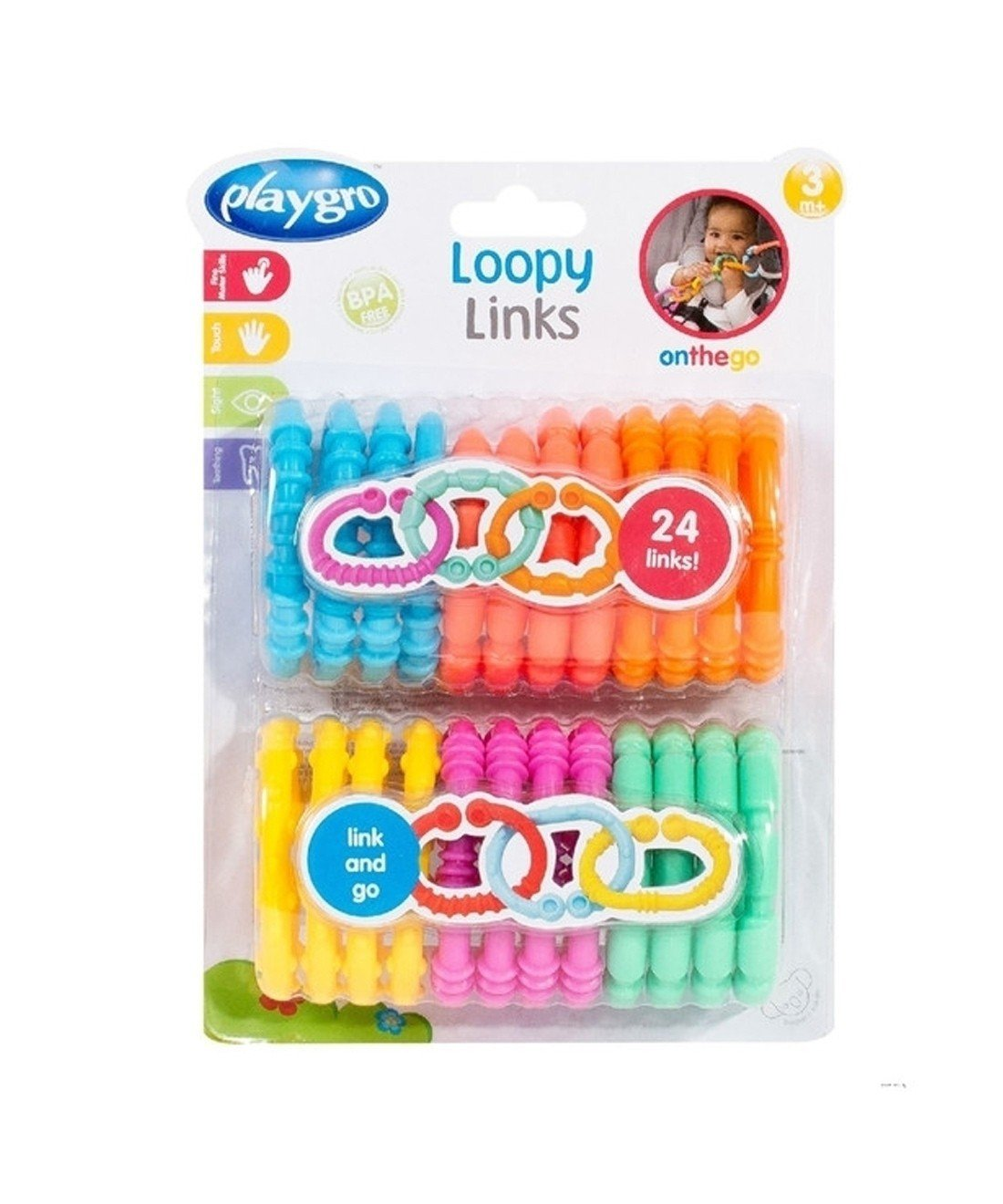 Playgro Loopy Links (24 Pack)