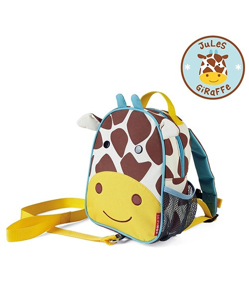 Skip Hop Zoo Safety Harness Backpack - Giraffe