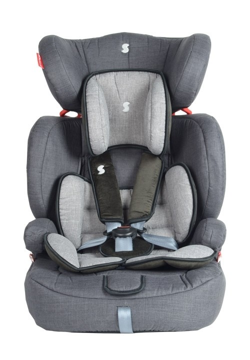 Snapkis Steps 1-12 Car Seat - Grey Melange/Black