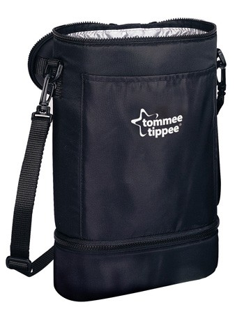 Tommee Tippee Insulated Carrier Twin without Bottle - Black