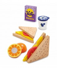 Early Learning Centre Wooden My Little Lunchbox Set