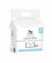 Applecrumby Pure Water Wipes - (50 Sheets X 3 Packs)
