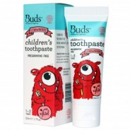 Buds Toothpaste with Xylitol Strawberry - 50ml