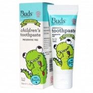 Buds Toothpaste with Flouride Green Apple - 50ml