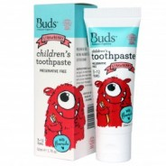 Buds Toothpaste with Flouride Strawberry - 50ml
