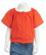 Gingersnaps Puff Sleeve Top