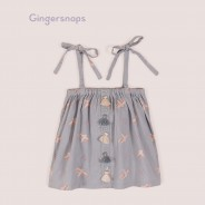 Gingersnaps Fabric Tassels Printed Blouse