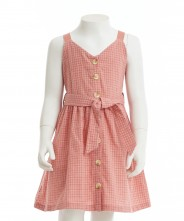 Gingersnaps Checked Strappy Dress