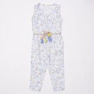 Gingersnaps Lemon Print Sleeveless Jumpsuit