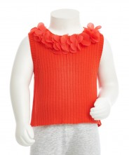 Gingersnaps Knitted Rib Shell Blouse