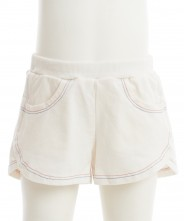 Gingersnaps Multicolor Stitches Terry Sporty Shorts