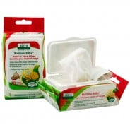 Aleva Naturals, Bamboo Baby, Hand 'n' Face Wipes, 30 Wipes