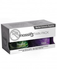 Mossif3 Herbal Extracts Repellent - 2 Pack