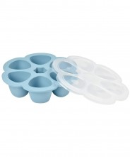 Beaba Multiportion 150ml Silicone Tray - Blue