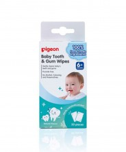 Pigeon Tooth & Gum Wipes - Natural