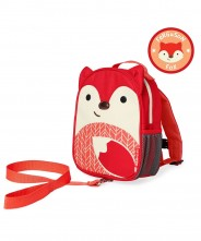 Skip Hop Zoo Safety Harness Backpack - Fox