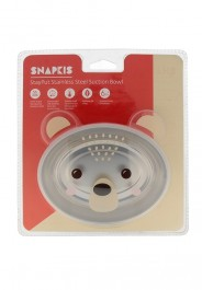 Snapkis StayPut Stainless Steel Suction Bowl