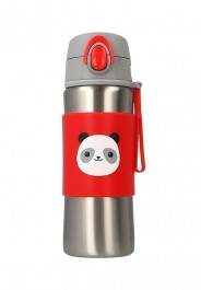 Snapkis Insulated Spout Bottle 340ml - Panda