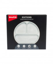 Snapkis Marble Divided Suction Plate