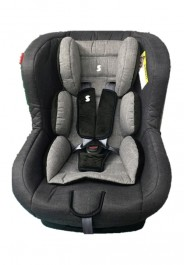 Snapkis Transformers 0-4 Car Seat - Grey Melange/Black