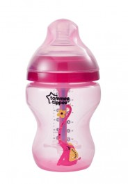 Tommee Tippee Advanced Anti-Colic Bottle 260ml - Pink (1 Pack)
