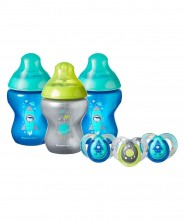 Tommee Tippee Closer to Nature Boldly Go Decorated Set - Boy