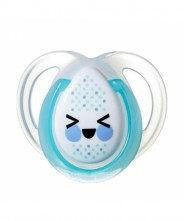 Tommee Tippee Closer to Nature Night Time Soother 0-6mths - 1 Pack