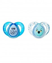 Tommee Tippee Closer to Nature Night Time Soother 6-18mths - 2 Pack