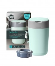 Tommee Tippee Sangenic Twist & Click Nappy Disposal Bin - Blue