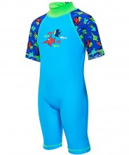 Zoggs Seasaw Sun Protection One Piece Suite - 1-2 Years
