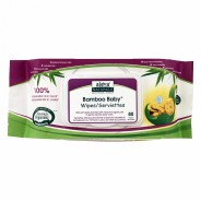 Aleva Naturals, Bamboo Baby Wipes, Scented - 80 Wipes
