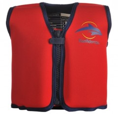 Konfidence Swim Jacket (4-5 yrs old) - Red