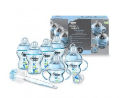 Tommee Tippee Closer to Nature Newborn Starter Set - Blue