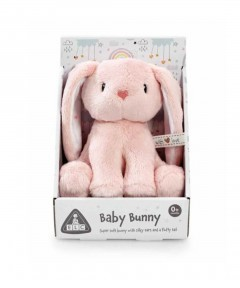 Early Learning Centre Mini Bunny Plush Toy - Pink