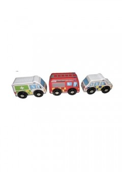 Early Learning Centre Wooden Emergency Vehicle Set