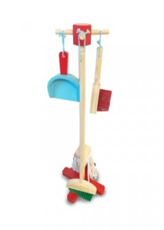 Early Learning Centre Wooden Cleaning Set