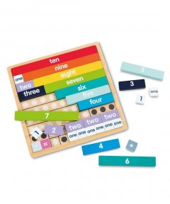Early Learning Centre Number Blocks Board