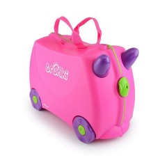 Trunki Ride-on Luggage - Trixie Pink