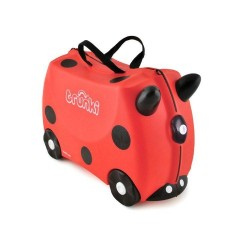 Trunki Ride-on Luggage - Harley Ladybird