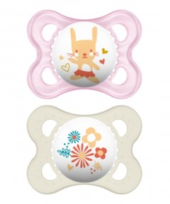 MAM Original Soother 0-6 Months - 2 Pack