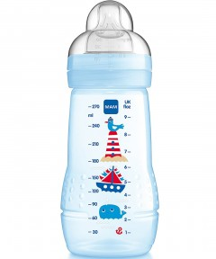 MAM Baby Feeding Bottle 270ml Teat 2 - 1 Pack